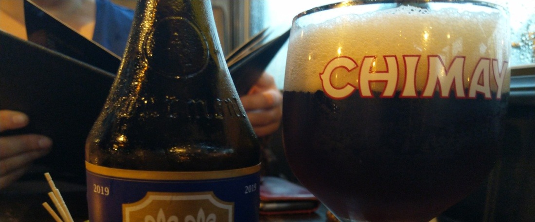 Chimay Blauw at Volt